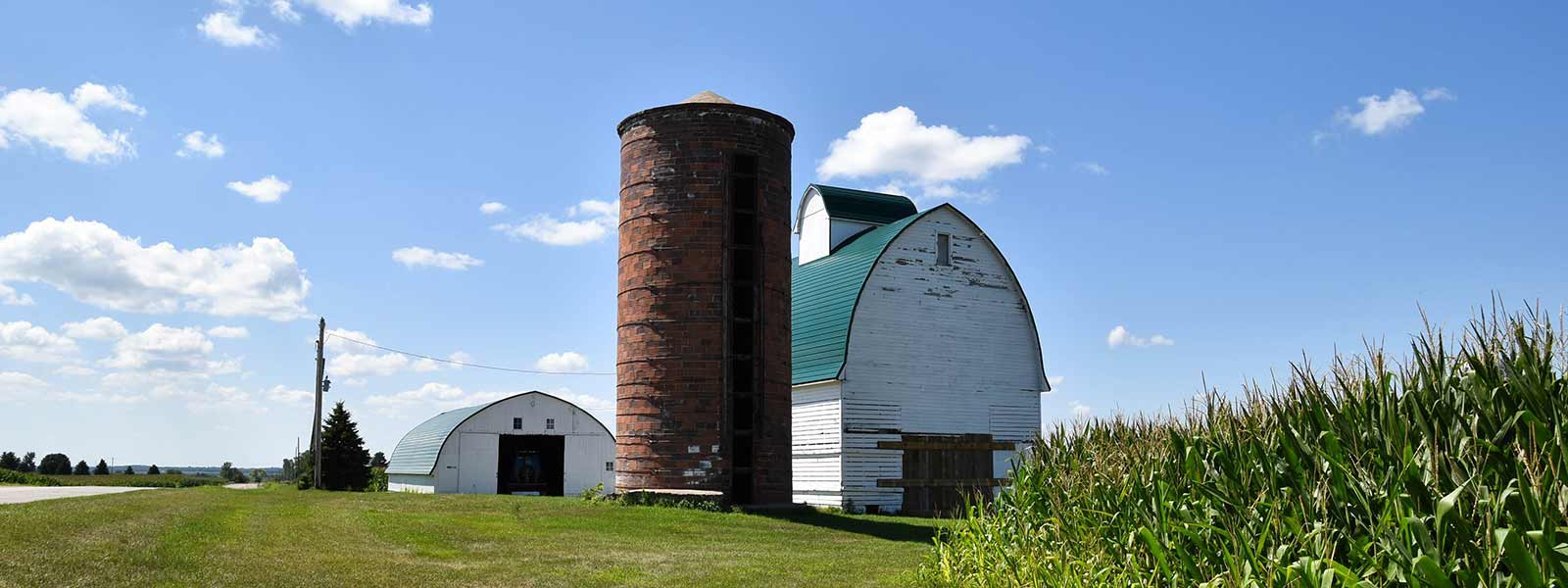 Corn Crib and Silo