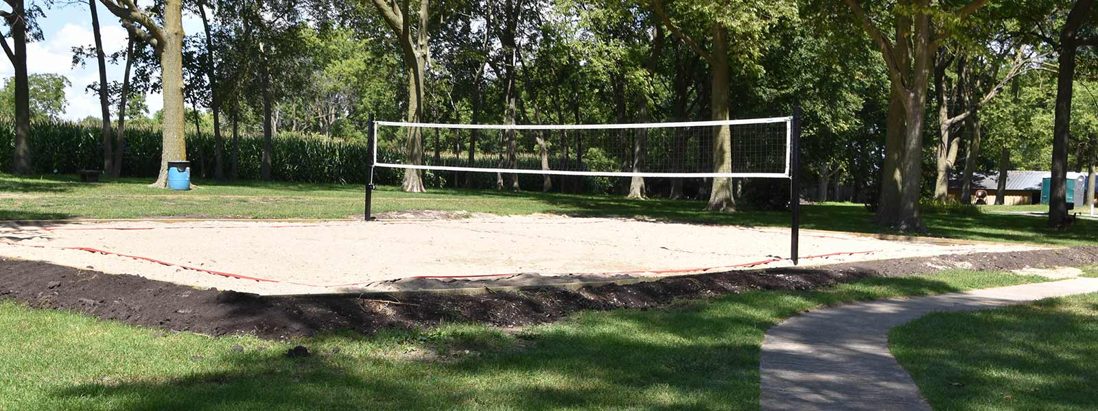 Edgewood VolleyBall Court
