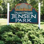 Jensen Park Sign